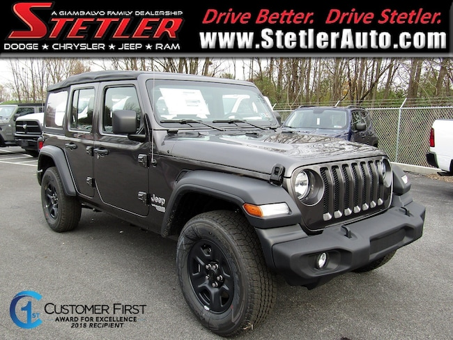 New 2018 Jeep Wrangler UNLIMITED SPORT 4X4 Sport Utility in York, PA