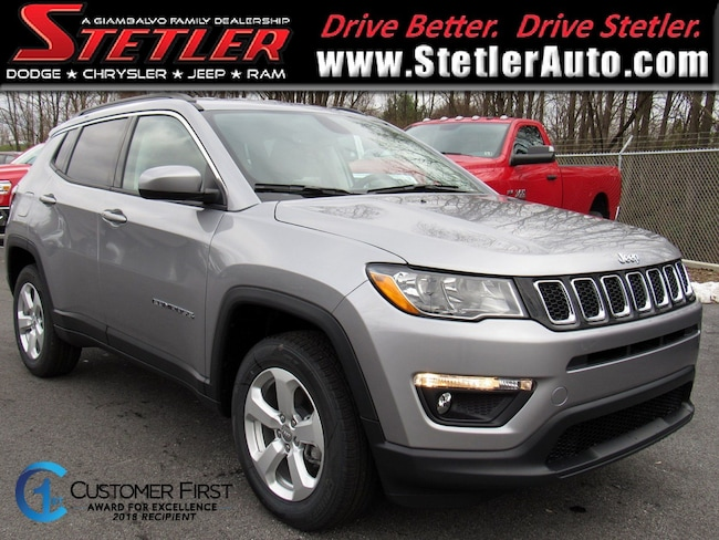 New 2019 Jeep Compass LATITUDE 4X4 Sport Utility in York, PA