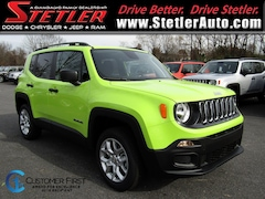 New 2018 Jeep Renegade SPORT 4X4 Sport Utility 724600 for sale in York, PA