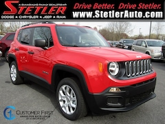 New 2018 Jeep Renegade SPORT 4X4 Sport Utility 724647 for sale in York, PA