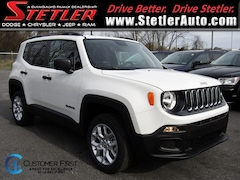 New 2018 Jeep Renegade SPORT 4X4 Sport Utility 724636 for sale in York, PA