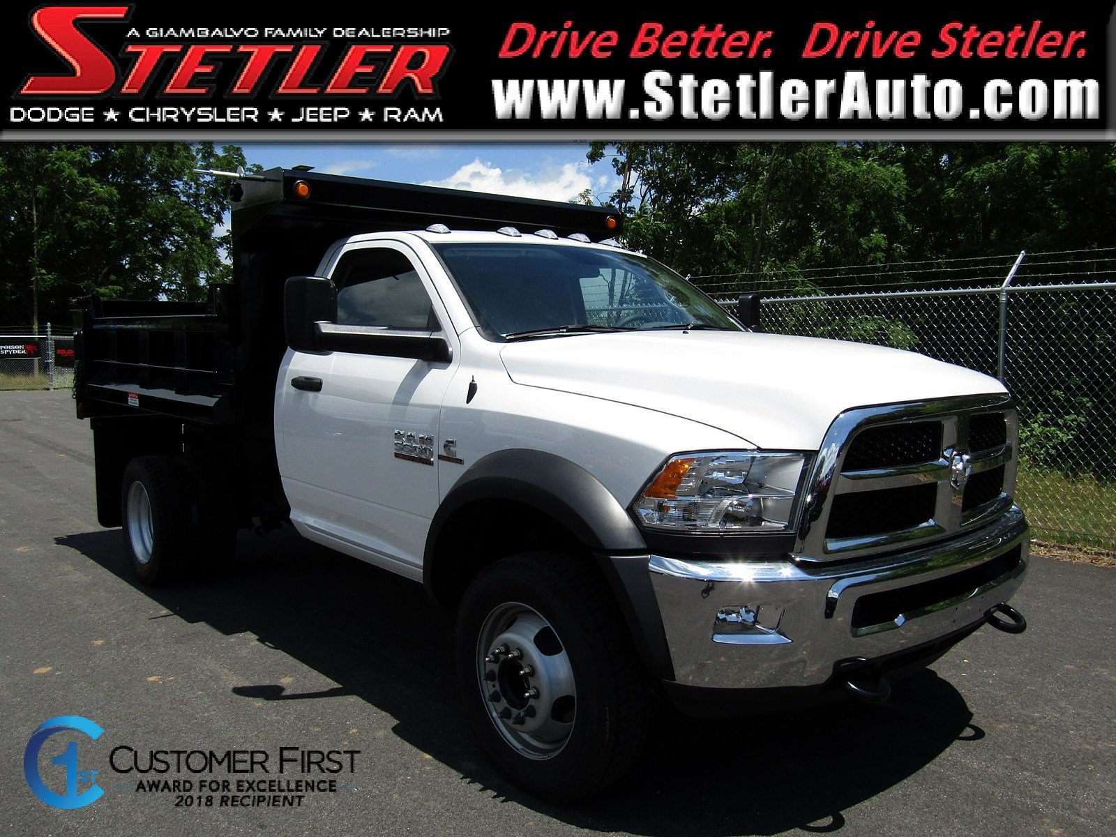 2018 Ram 5500 TRADESMAN CHASSIS REGULAR CAB 4X4 144.5 WB Regular Cab