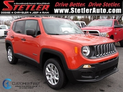 New 2018 Jeep Renegade SPORT 4X4 Sport Utility 724819 for sale in York, PA