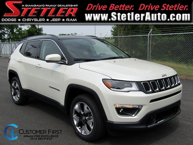 New 2018 Jeep Compass LIMITED 4X4 Sport Utility in York, PA