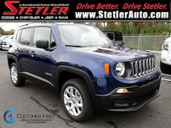 New 2018 Jeep Renegade SPORT 4X4 Sport Utility 724597 for sale in York, PA