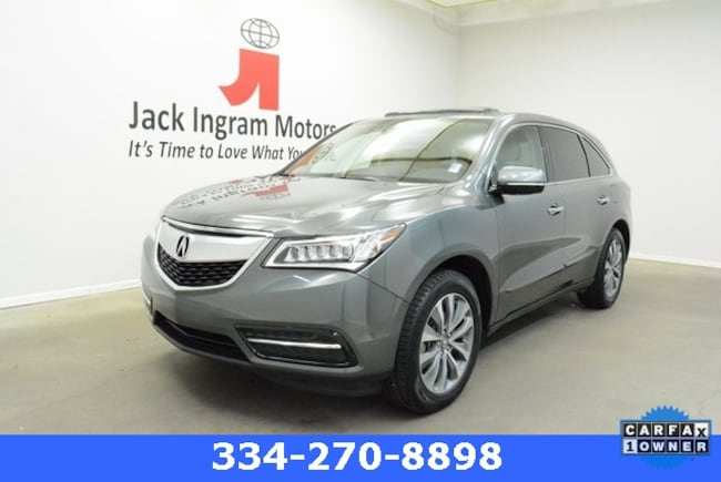 Used 2014 Acura MDX MDX with Technology Package SUV For sale In Montgomery