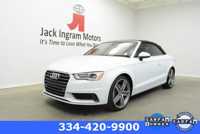 Used 2015 Audi A3 2.0T Premium (S tronic) Cabriolet For sale In Montgomery
