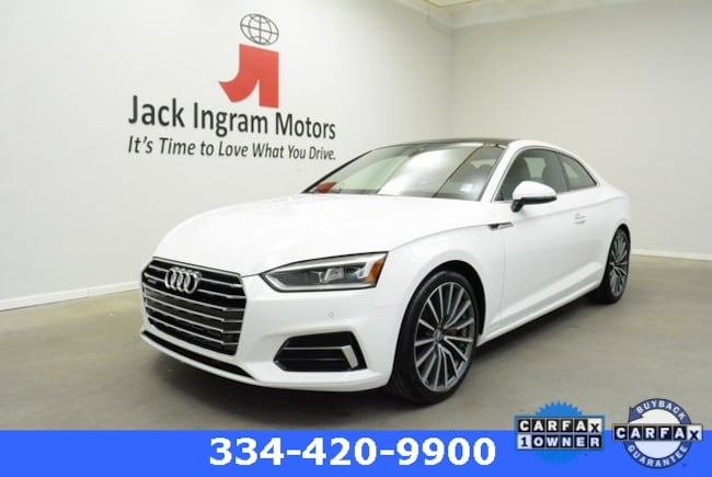 Certified 2018 Audi A5 2.0T Premium Coupe Montgomery