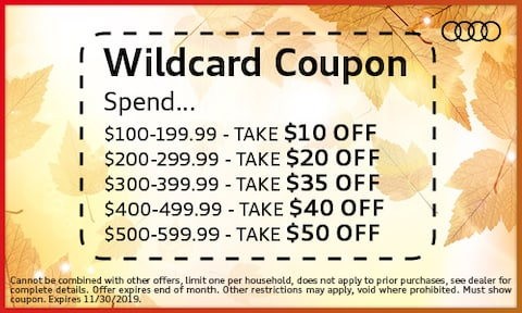 Wildcard Coupon