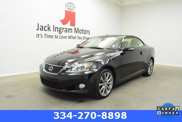 Used 2014 LEXUS IS 250C Convertible For Sale In Montgomery