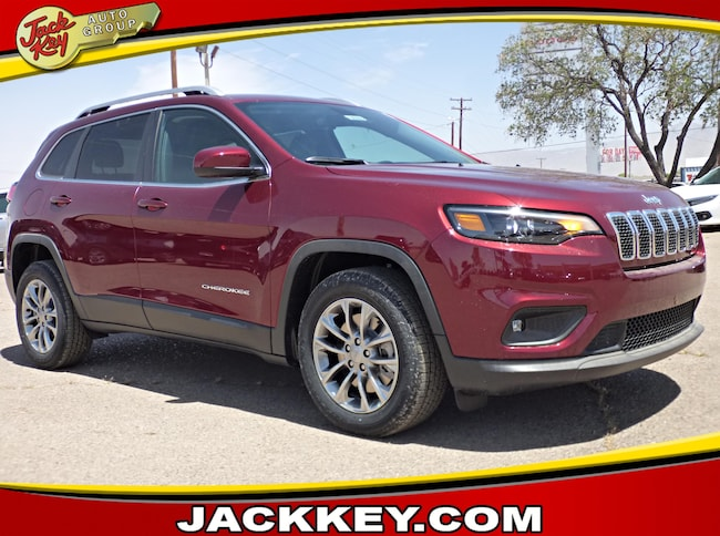 2019 Jeep Cherokee LATITUDE PLUS FWD Sport Utility at Jack Key Auto Group