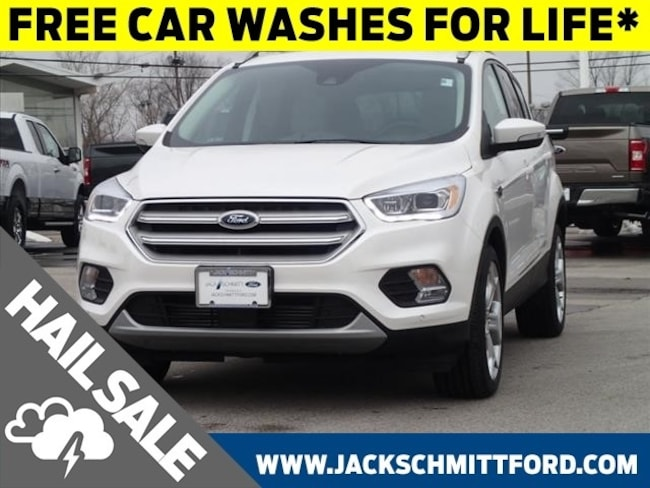 New 2019 Ford Escape Titanium SUV for sale in Collinsville, IL