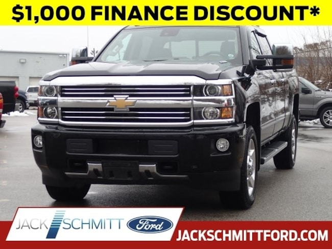 Used 2016 Chevrolet Silverado 2500HD High Country Crew Cab Short Bed Truck for sale in Collinsville, IL