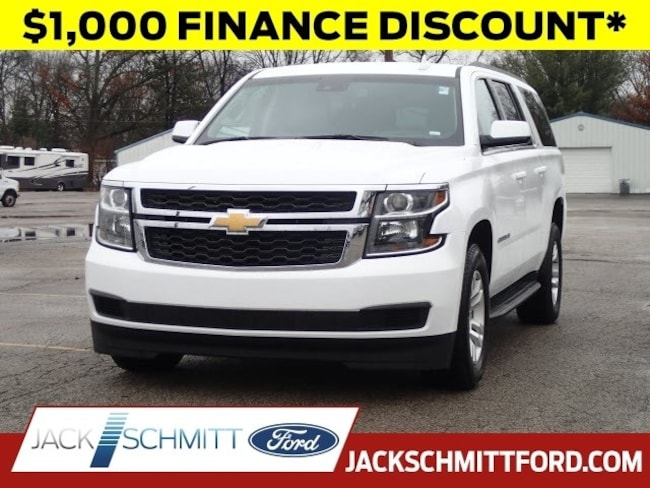 Used 2018 Chevrolet Suburban LT SUV for sale in Collinsville, IL