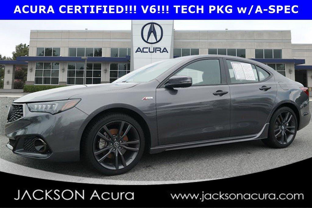 2019 Acura TLX V6 w/A-SPEC Pkg Sedan