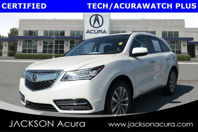 2016 Acura MDX TechnologyPkg with AcuraWatch SUV