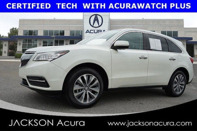 2016 Acura MDX Technology Package SUV