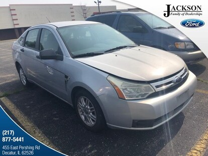 2008 Ford Focus For Sale >> Used 2008 Ford Focus For Sale At Jackson Ford Inc Vin