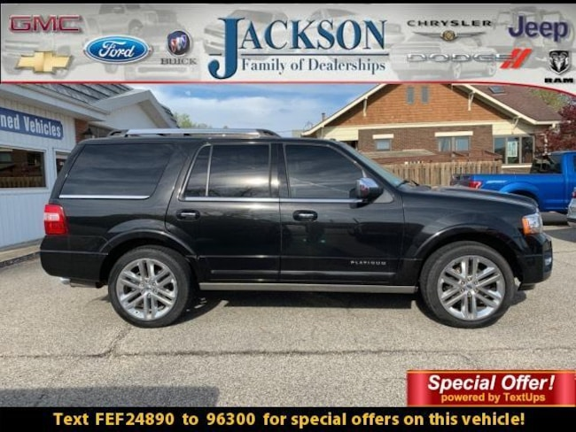 2015 Ford Expedition 4WD 4dr Platinum Sport Utility