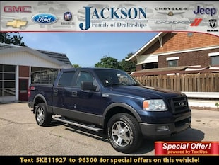 2005 Ford F-150 Supercrew 139 FX4 4WD Crew Cab Pickup
