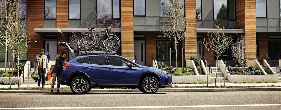 2020 Subaru Crosstrek Parked in Macon, Georgia
