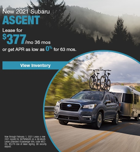 New 2021 Subaru Ascent
