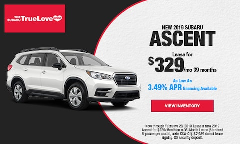 New 2019 Subaru Ascent