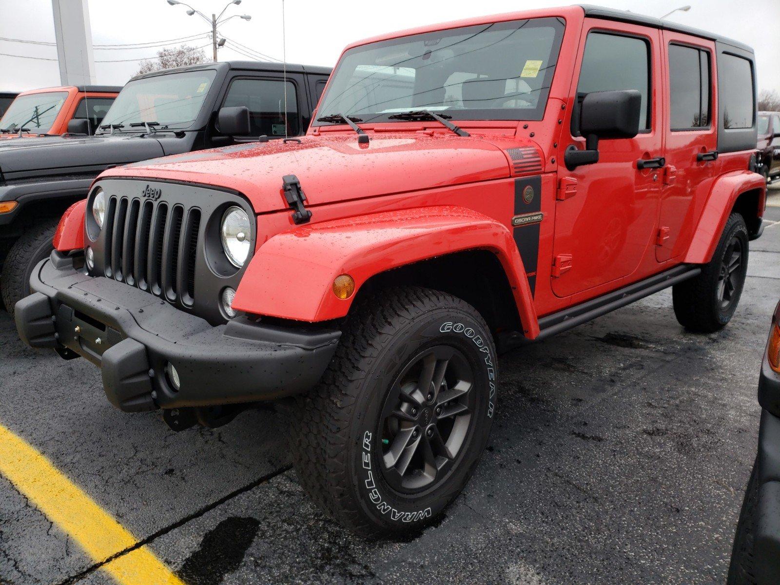 2018 Jeep Wrangler Unlimited WRANGLER JK UNLIMITED FREEDOM EDITION 4X4 Sport Utility