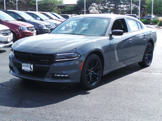 New 2018 Dodge Charger SXT PLUS RWD - LEATHER Sedan Belvidere