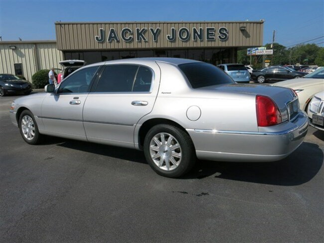 Used 2010 Lincoln Town Car For Sale at Jacky Jones Automotive | VIN