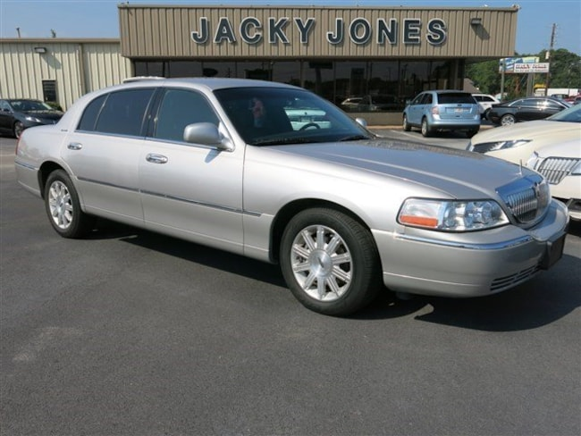 Used 2010 Lincoln Town Car For Sale At Jacky Jones Automotive Vin