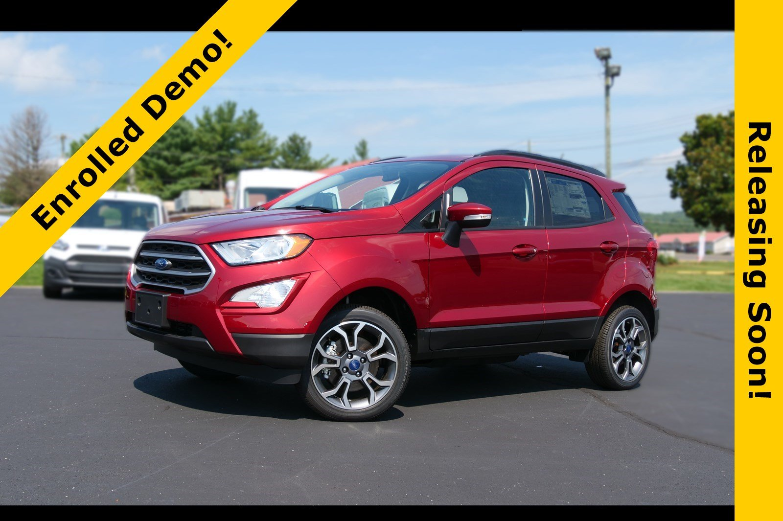 2018 Ford EcoSport SE - ACTIVE DEMO SE 4WD