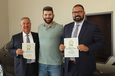 Photos from Jaffarian Auto Group Customer Service Event with Mitch Moreland
