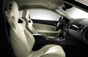 Jaguar XKR Ivory Performance Seats