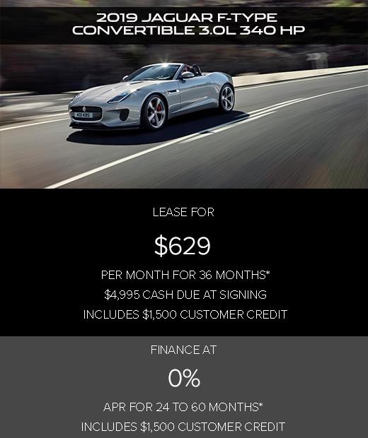 Jaguar Lease Price: Jaguar F-TYPE Offers