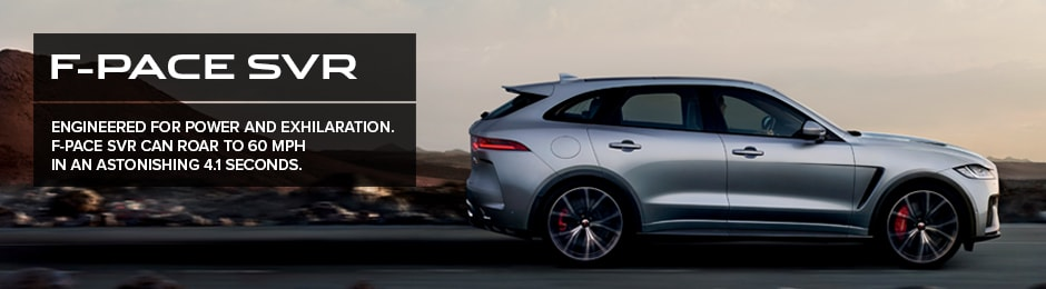 F-Pace SVR available at Crown Jaguar