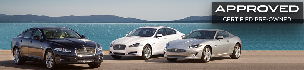 Jaguar XE and XF lineup
