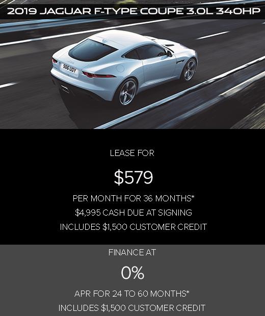 Jaguar F-TYPE Offers