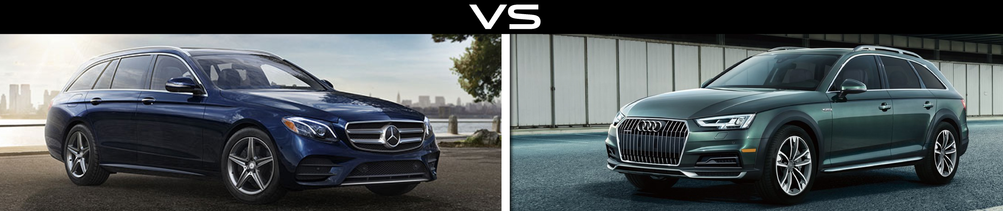 Mercedes-Benz E400 VS Audi A4 Allroad
