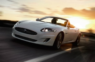 Jaguar XKR Convertible Polaris White