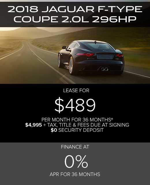 Jaguar Lease Price: Paretti Jaguar Of Baton Rouge
