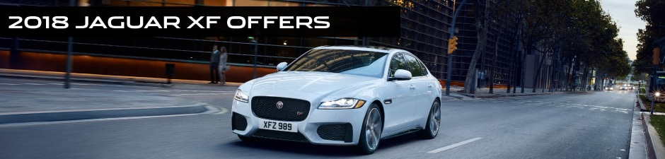 White Jaguar XF