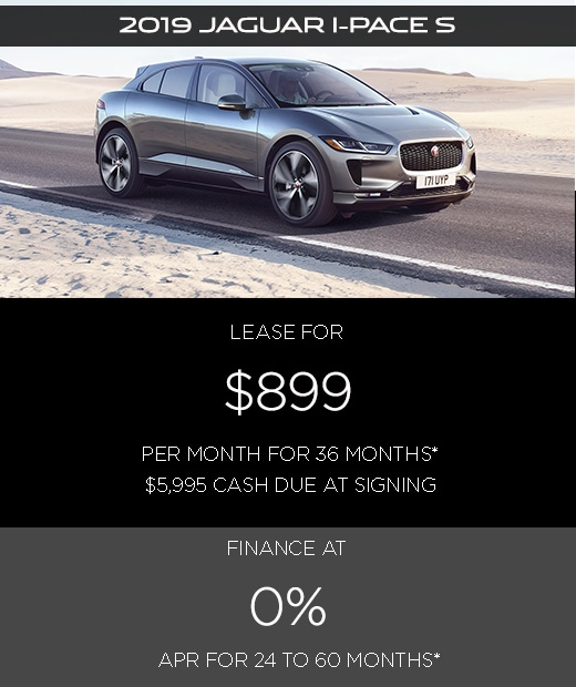 Jaguar Extended Warranty: Jaguar I-Pace Offers