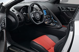 F-TYPE Coupe Interior