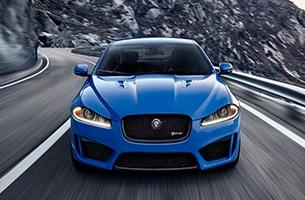 Jaguar XFR-S Exterior Front