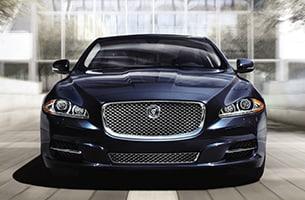 Jaguar XJ Front