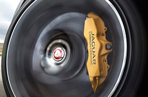 Jaguar Carbon Ceramic Brakes
