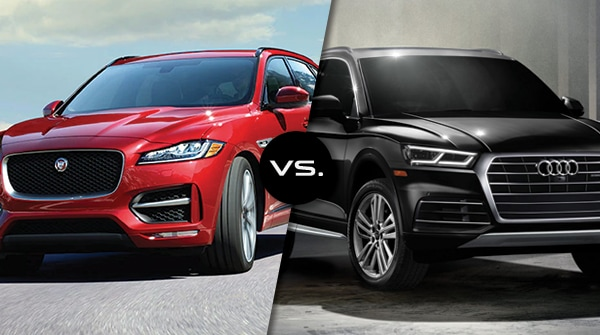 Comparison: 2019 Jaguar F-Pace vs 2019 Audi Q5