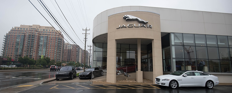 Exterior of Jaguar Bethesda