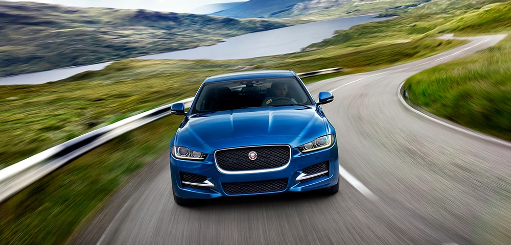 Front photo of 2018 Jaguar XE